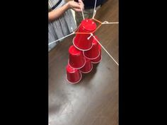 Last year the cup stack was one of my FAVORITE team building activities ( see post here ).  So, naturally, I wanted to give it another sh...