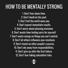 #MentallyStrong