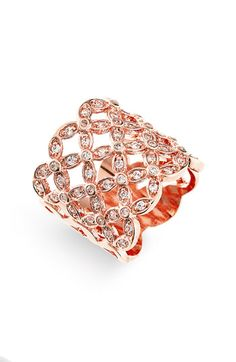 Ariella Collection Openwork Ring available at #Nordstrom