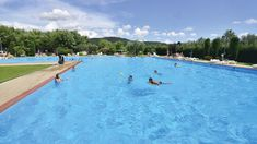 Lido Camping Village is an excellent campsite offering a lovely beach by stunning Lake Bolsena