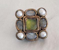 Medieval jewelry pin renaissance Elizabethan by myladysfavor