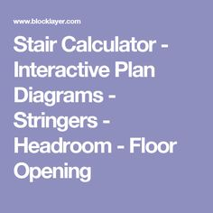 Calculate stair rise, run, stringers, head-room and upper floor opening dimensions - Wood and concrete stairs - Inch Stair Stringer Layout, Stairs Stringer, Concrete Stairs, Deck Stairs, Handy Tips, Helpful Hints, House Repair, General Construction, Container Houses