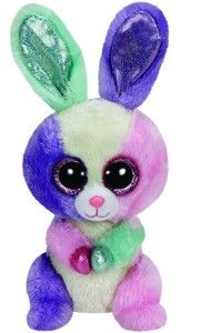 New TY Beanie Boos Bloom Rabbit Plush Animals Kawaii Colorful Bunny Ty Big Eyes Soft Toys Kids Toys for Girls Gifts Ty Animals, Ty Stuffed Animals, Plush Animals, Ty Beanie Boos, Beanie Babies, Ty Peluche, Ty Toys, Kids Toys, Ty Babies