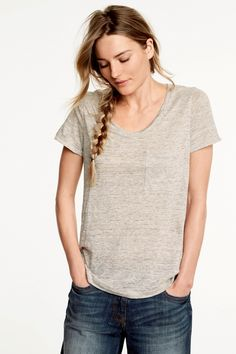 Buy Linen T-Shirt online today at Next: Israel