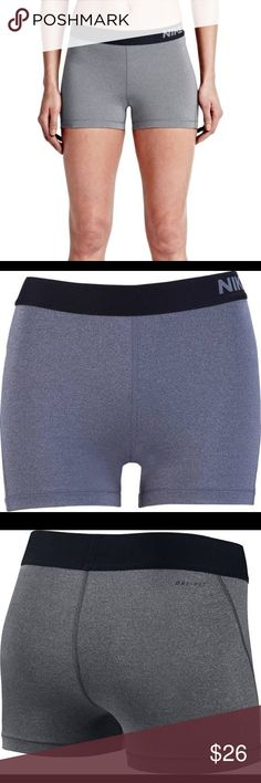 Nike Pro Compression Shorts Grey Nike Pro Compression Shorts, Size Small, 80% polyester, 20% Spandex Nike Shorts