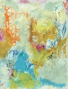 """Daily Painters Abstract Gallery: Holiday Sale,Colorful Contemporary Abstract Expressionist Fine Art Painting """"TIME IN THE GARDEN"""" by Contemporary Expressionist Pamela Fowler Lordi Daily Painters, Holiday Sales, Adhd Help, October 10, Fine Art, Contemporary, Abstract, Wallpaper, Gallery"""