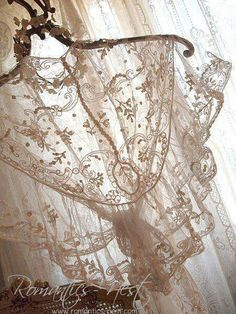 Lace Shawl Lace Shawl The post Lace Shawl appeared first on Lace Diy. Antique Lace, Vintage Lace, Fru Fru, Passementerie, Pearl And Lace, Lace Outfit, Romantic Lace, Linens And Lace, Lace Collar