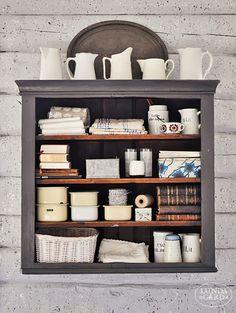 L U N D A G Å R D   inredning, familjeliv, byggnadsvård, lantliv, vintage, färg & form: Att stänkmåla en vägg