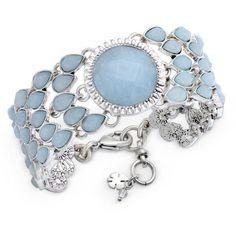 Link Bracelets, Jewelry Bracelets, Jewellery, Lucky Brand Jewelry, Blue Party, Stone Jewelry, Bracelet Watch, Jewelry Watches, Jewelry Accessories