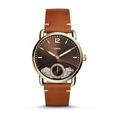 Associant la beauté d'un mouvement automatique à la précision d'une montre à quartz, notre légendaire modèle Commuter fait forte impression avec son esthétique épurée qui dévoile partiellement la beauté de son mécanisme.