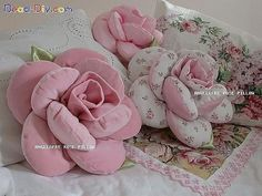 Love the photos attached to this pin!  Rose pillows, ballerinas, stuffed animals... beautiful!