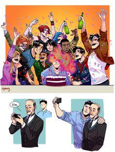 """Happy birthday Bruce Wayne!"""
