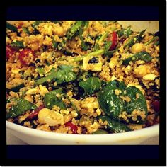 greek quinoa salad/every little thing blog