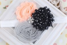 Use coupon code 0602900 and save 20%..Baby Headbands & Fashion vintage chubby chic by OneStopKidsFashion, $6.95