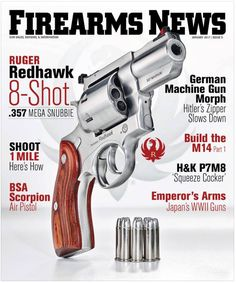 39 best magazine covers images on pinterest revolvers gun and the new ruger redhawk 357 mag graces this months cover of firearms news fandeluxe Image collections