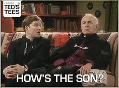 . Still Game, Father Ted, Irish Catholic, Uk Tv, British Comedy, Television Program, Tv Quotes, Make Me Smile, I Laughed