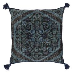 Surya Zahra Hand Knotted Decorative Throw Pillow   from hayneedle.com