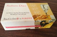 Singer Touch & Sew Fashion Discs for Deluxe by BigMamasBasement, $8.50