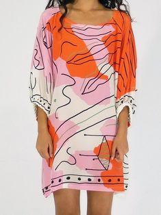 Hui Hui Fantasya Drawn Dress