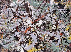 ジャクソン・ポロック / 1950s / 抽象画 / 感情、具体の上乗せ