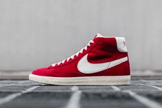 Nike Blazer Mid Cru Prm Varsity 11s Rouge