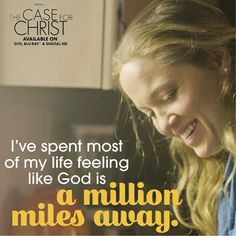 He's closer than you think. Case For Christ, Of My Life, Closer, Thinking Of You, Feelings, Thinking About You