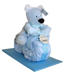 Diaper Carriage, Baby Shower Items, Smurfs, Crafts, Fictional Characters, Ideas, Baby Gifts, Diaper Cakes, Kids