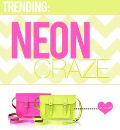 the neon trend