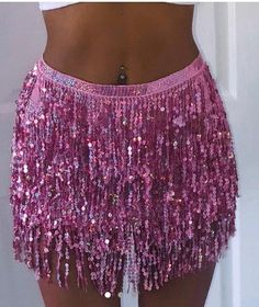 Free Delivery -Pink sequin tassel fringe sarong / beach skirt Source by erindcheek skirt Cowgirl Halloween Costume, Halloween Outfits, Couple Halloween, Fairy Halloween Costumes, Group Halloween, Looks Party, Tassel Skirt, Sequin Skirt, Fringe Skirt