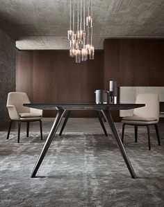 minotti evans table