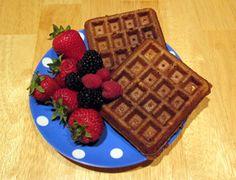 Healthy Whole Grain Waffles
