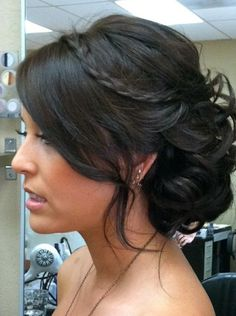 une magnifique coiffure pour mon mariage de rêve!!