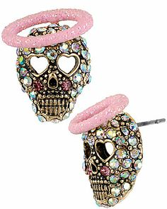 Omg, cutest earrings ever. Betsey John is at it again!