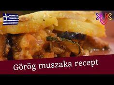 Görög muszaka recept | A klasszikus görög rakott muszaka recept - YouTube Meat, Recipes, India, Food, Youtube, Goa India, Essen, Meals, Eten