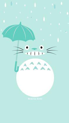 Totoro iPhone Wallpaper