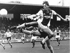Marco van Basten, 1983 #AFCAjax #AjaxAmsterdam #Ajax #AFCA @Theleaguemag