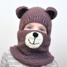 New Crochet Hat Toddler Girl Hooded Cowl 28 Ideas Bonnet Crochet, Crochet Baby Hats, Crochet Beanie, Crochet For Kids, Knit Crochet, Headband Crochet, Scarf Knit, Crochet Toddler, Headband Pattern