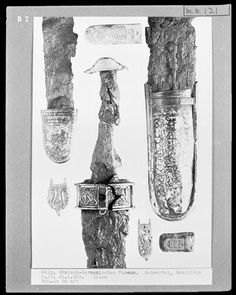 Iron Sword Fittings [Schwertbeschläge], c. 501-700