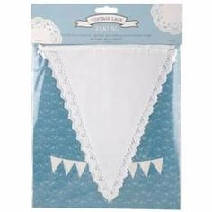 Vintage Lace Cotton Bunting – Just £8.99