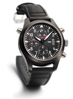 IWC Pilot's Watch Top Gun Doublechronograph