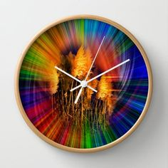 Society6 - Autumn Impression Wall Clock by Walter Zettl Society6 http://www.amazon.com/dp/B00X7HDF28/ref=cm_sw_r_pi_dp_8atHvb0TBCFGD