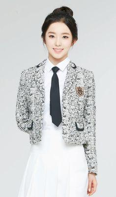 Red Velvet - Irene #아이린 (Bae JooHyun #배주현) for IVY club school uniforms : *여성시대* 차분한 20대들의 알흠다운 공간 | [레드벨벳] 아이린 아이비 광고 (교복 아이비) - Daum 카페