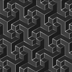 Grey Geometric Pattern
