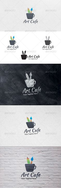 Art Cafe - Logo Template