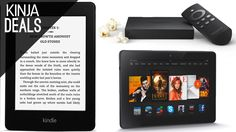 If you've been procrastinating on your holiday shopping, and need to pick up a new e-reader, tablet, or streaming box, today's almost certainly going to be your last chance to save on an array of Amazon gadgets before Christmas.