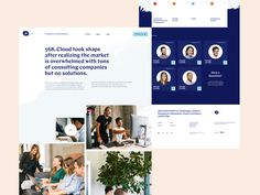 About Us Landing Page for a Cloud Consulting Startup designed by Julien Renvoye for Voila. Connect with them on Dribbble; the global community for designers and creative professionals. Landing Page Examples, App Landing Page, Landing Page Design, Website Design Inspiration, Web Design Inspiration, About Us Page Design, Cloud Computing Services, Consulting Companies, Startup