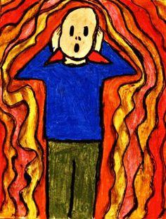 Edvard Munch: The Scream lesson