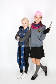 Disney princesses go to Hogwarts!