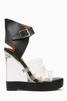 Jeffrey Campbell All Will Be Revealed Wedge Sandal