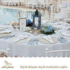 Küçük detaylar büyük mutluluklar sağlar. Gelin, hayallerinizi süsleyen bir düğün organizasyonuyla mutluluğa adım atın...